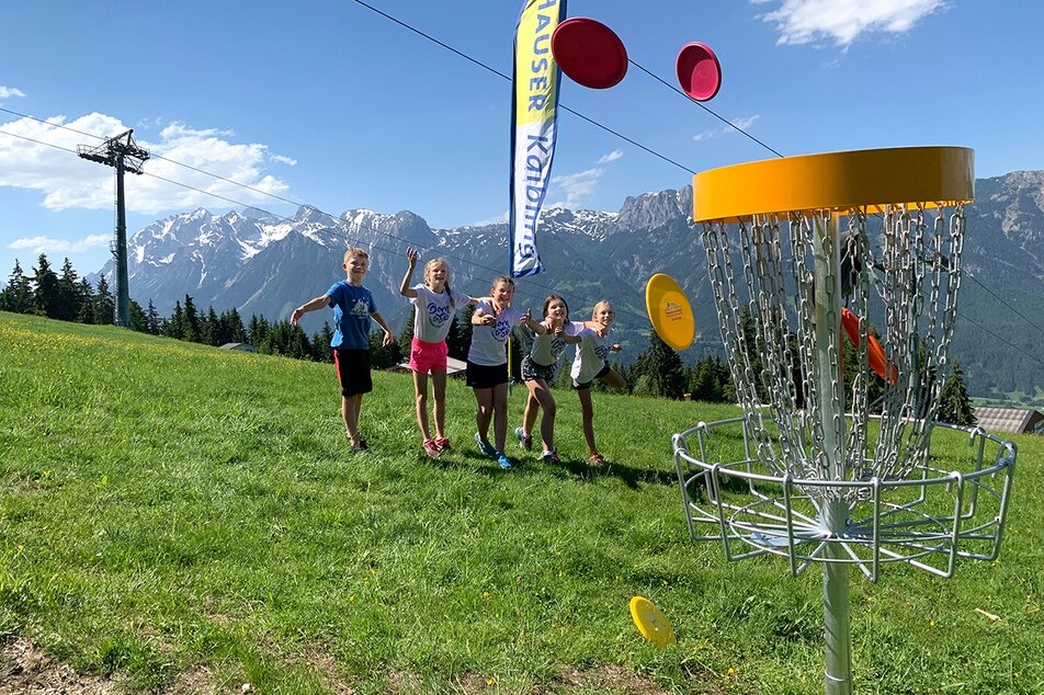 Disc Golf Parcours am Hauser Kaibling | © Hauser Kaibling